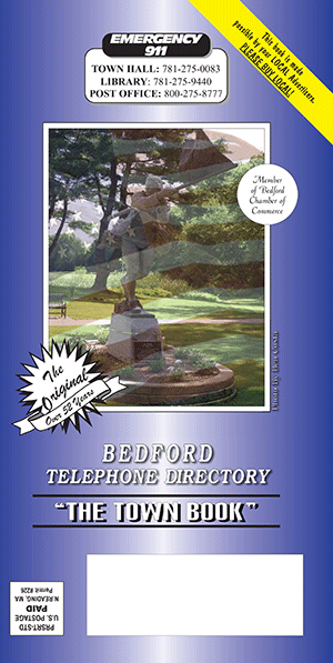 B Amp D Advertising Bedford Town Book Phone Directory