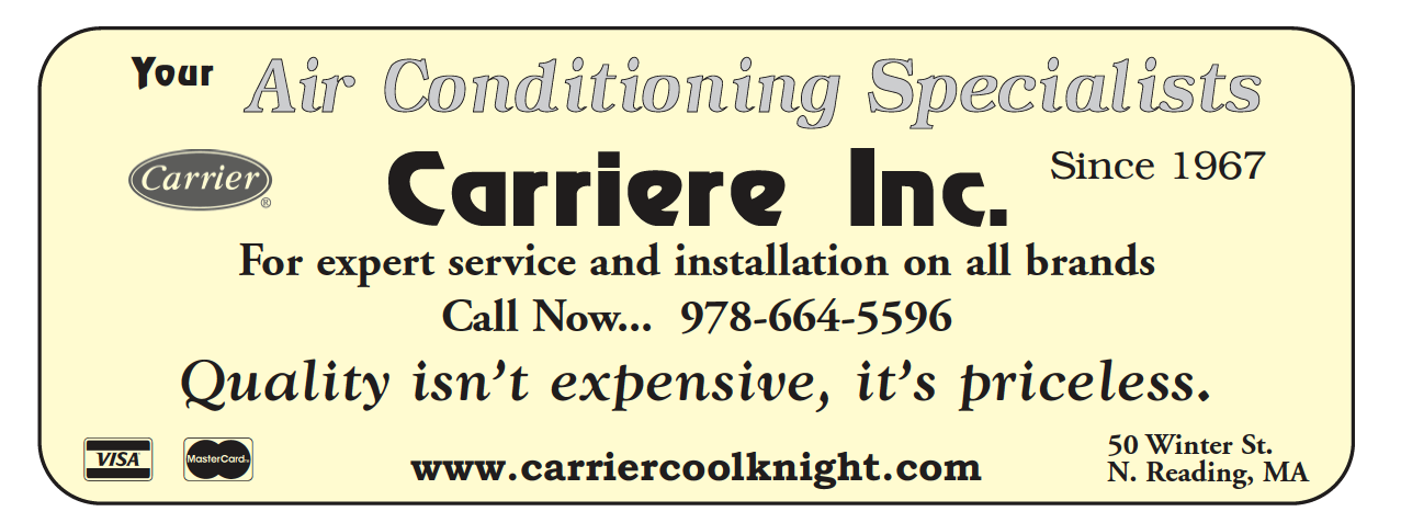 Bd advertising north reading town book phone directory carriere heating and air conditioning sciox Gallery