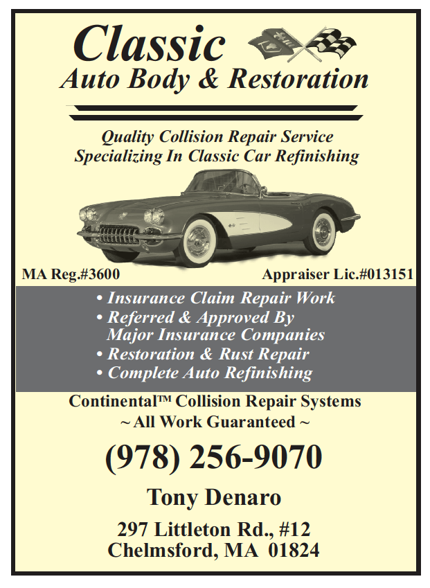 Bd advertising chelmsford town book phone directory auto body repair sciox Gallery